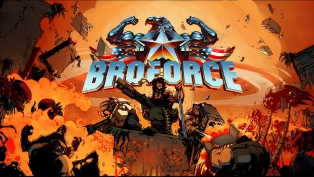 """Broforce"" on PC and PS4 - The Broforce Needs You"