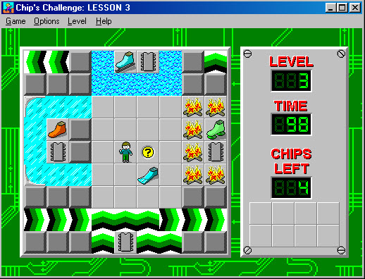 Throwback Thursday: Chip's Challenge - There's a Bug in the System