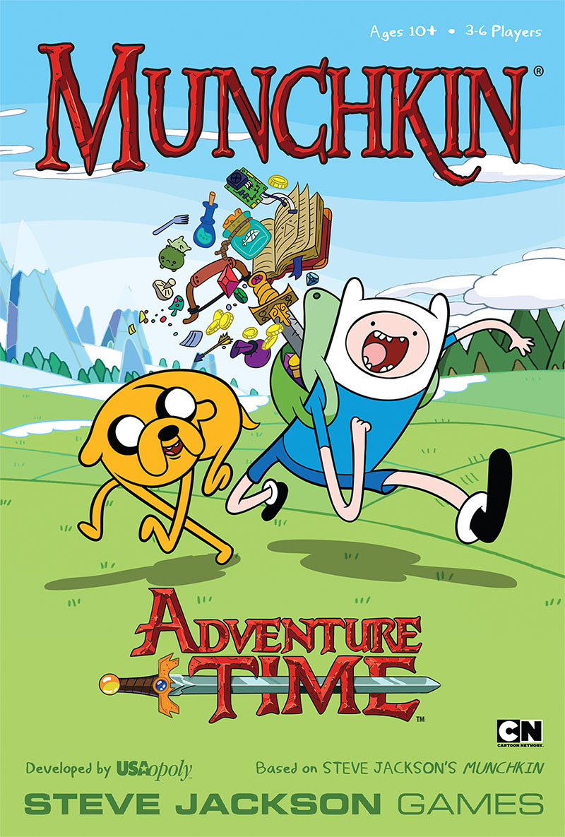 """Munchkin Adventure Time!"" and ""Munchkin Gloom"" Announced - Oh My Glob!"