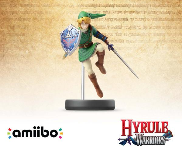 "Amiibo Figures Set for ""Hyrule Warriors"""