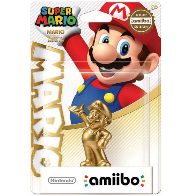 Gold Mario Amiibo Reportedly Delayed *UPDATE* - Some Stock Still Showing Up at Walmart for Original Release Date Though