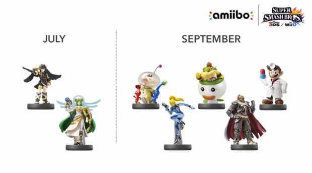 Amiibos for Spring/Summer Have Been Revealed - Going from May to September
