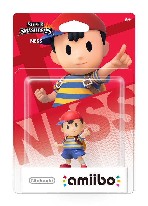 *UPDATE* Ness, Jigglypuff, & Greninja Amiibos Exclusive to Select Retailers