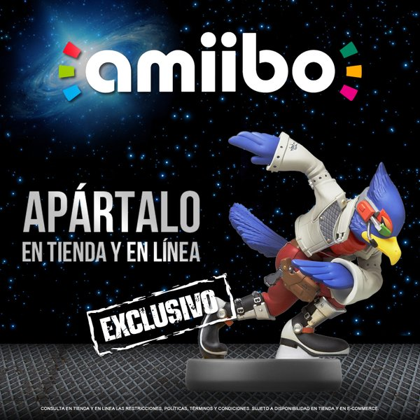 Falco Amiibo Exclusive in Mexico at Blockbuster - What Are the Odds?