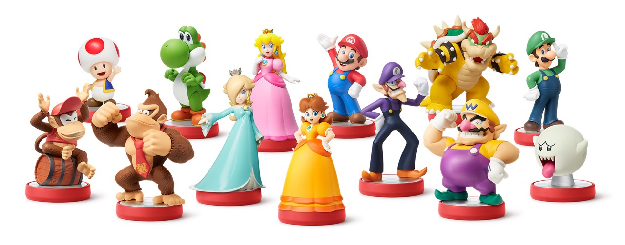 """Breath of the Wild"" & More ""Super Mario"" Amiibo Revealed - Wanted Cloud?  Too Bad, Waluigi Time!"