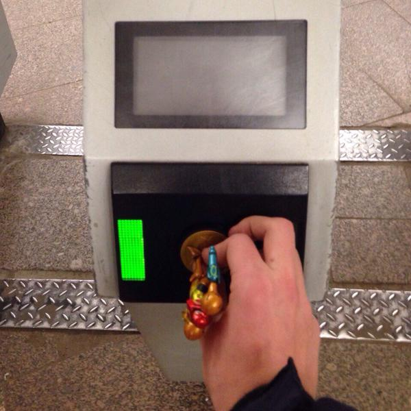 Amiibo Can Somewhat Get Free Rides on Metro