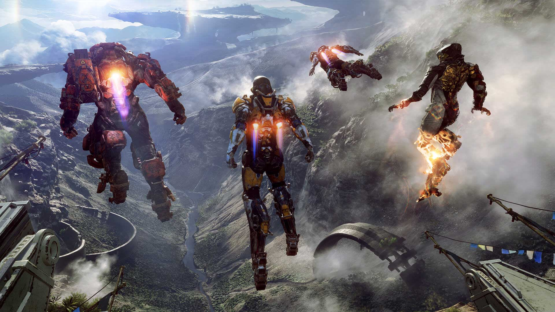 "EA Announces New Bioware IP: ""Anthem"" - Destiny: Attack On Titanfall?"