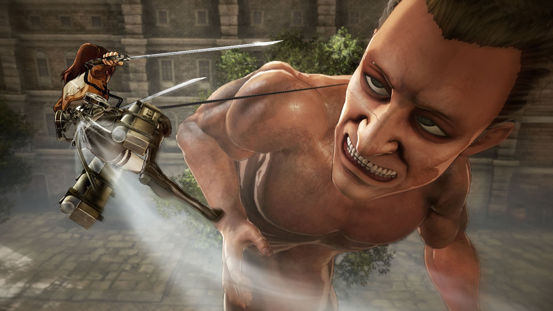 "You Get to Play as a Titan in PS4 ""Attack on Titan"" Game - Slight Spoilers Incoming for Newcomers"