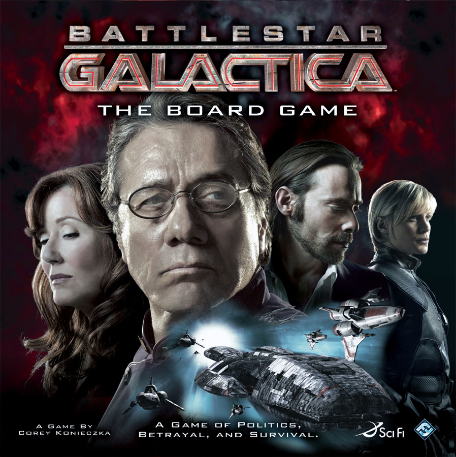 Battlestar Galactica: The Board Game - Sometimes you gotta roll the hard d8....