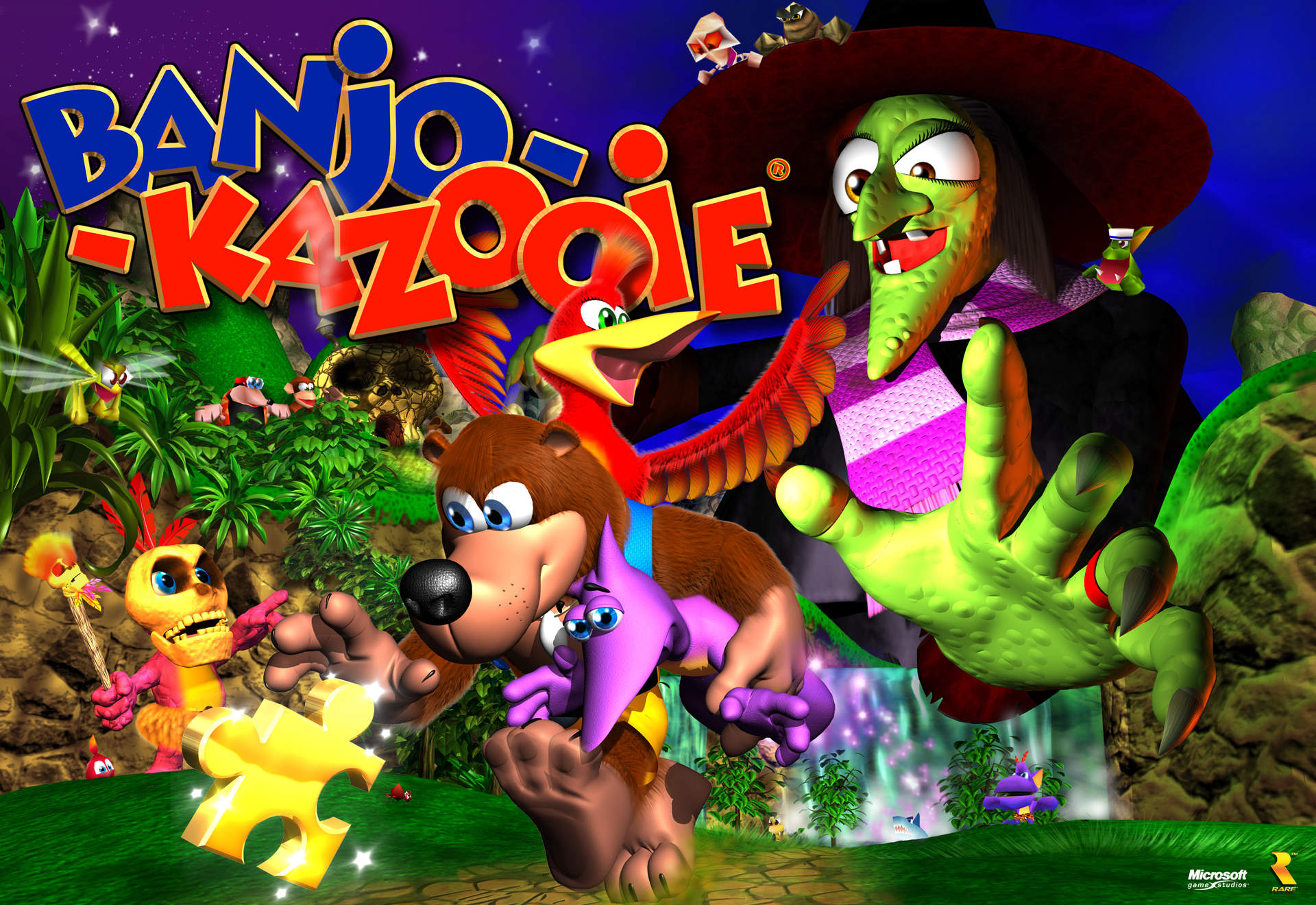 "Former Rare Devs Working On A Spiritual Successor to ""Banjo-Kazooie"" - Eekum Bokum!"
