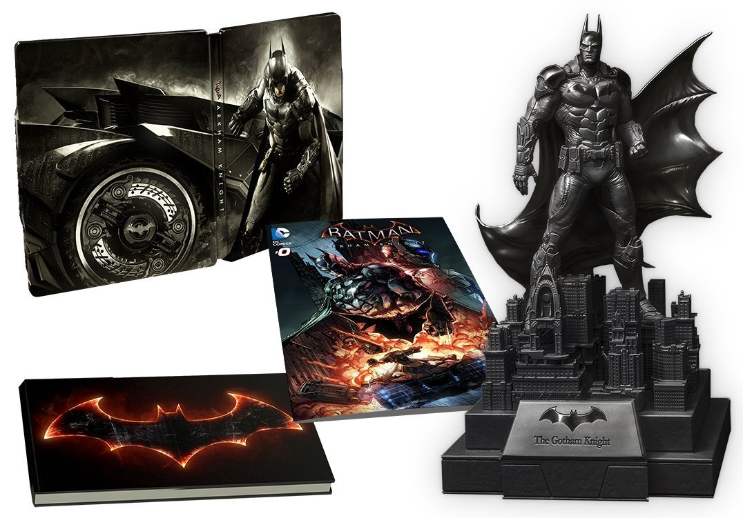 """Batman: Arkham Knight"" Limited Edition Has Spoilers"