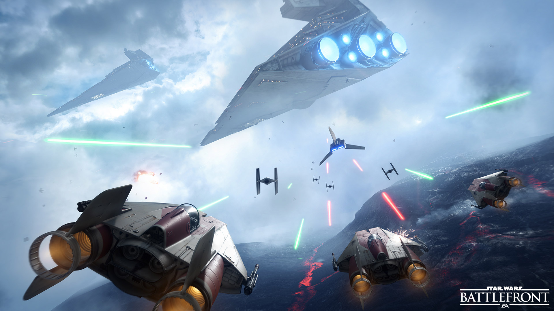 """Star Wars Battlefront"" Sequel Scheduled For Next Year - *X-Wing Noises*"