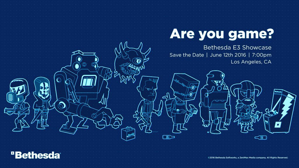 Bethesda Announces Their E3 Presentation Date - Expect