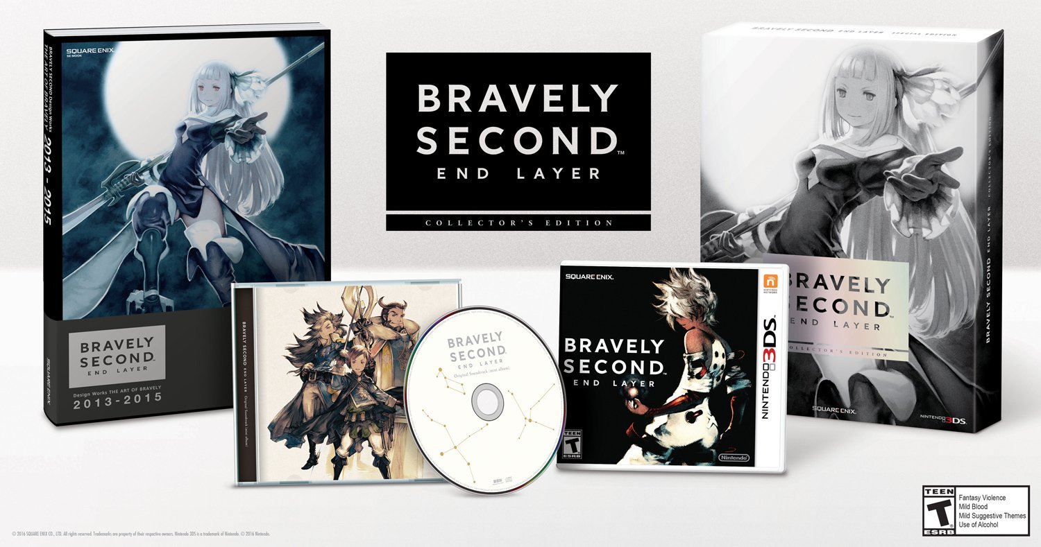 """Bravely Second"" NA/EU Release Date Announced - Secondly, Coming in April"