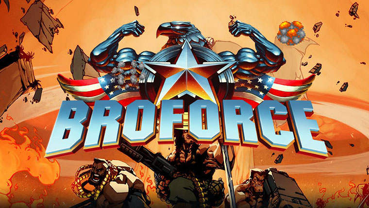 Broforce - Two Player Games