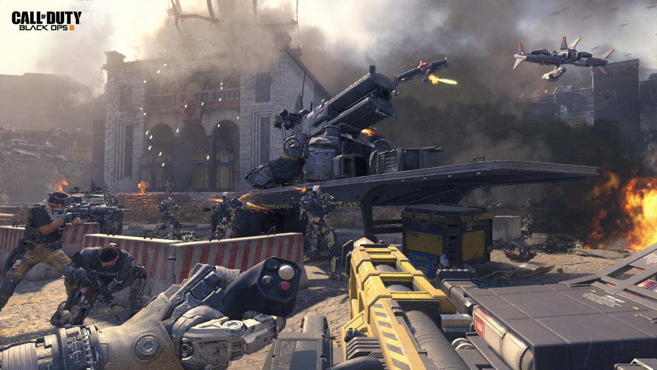 """Call of Duty Black Ops III"" Official Trailer Shown - Robots, Giant Mechs, and More"