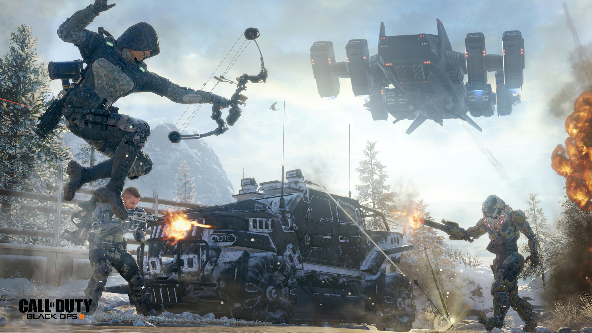 """Call of Duty: Black Ops III"" Has Brutal One-Hit Difficulty - You Get Shot Once, You Die"