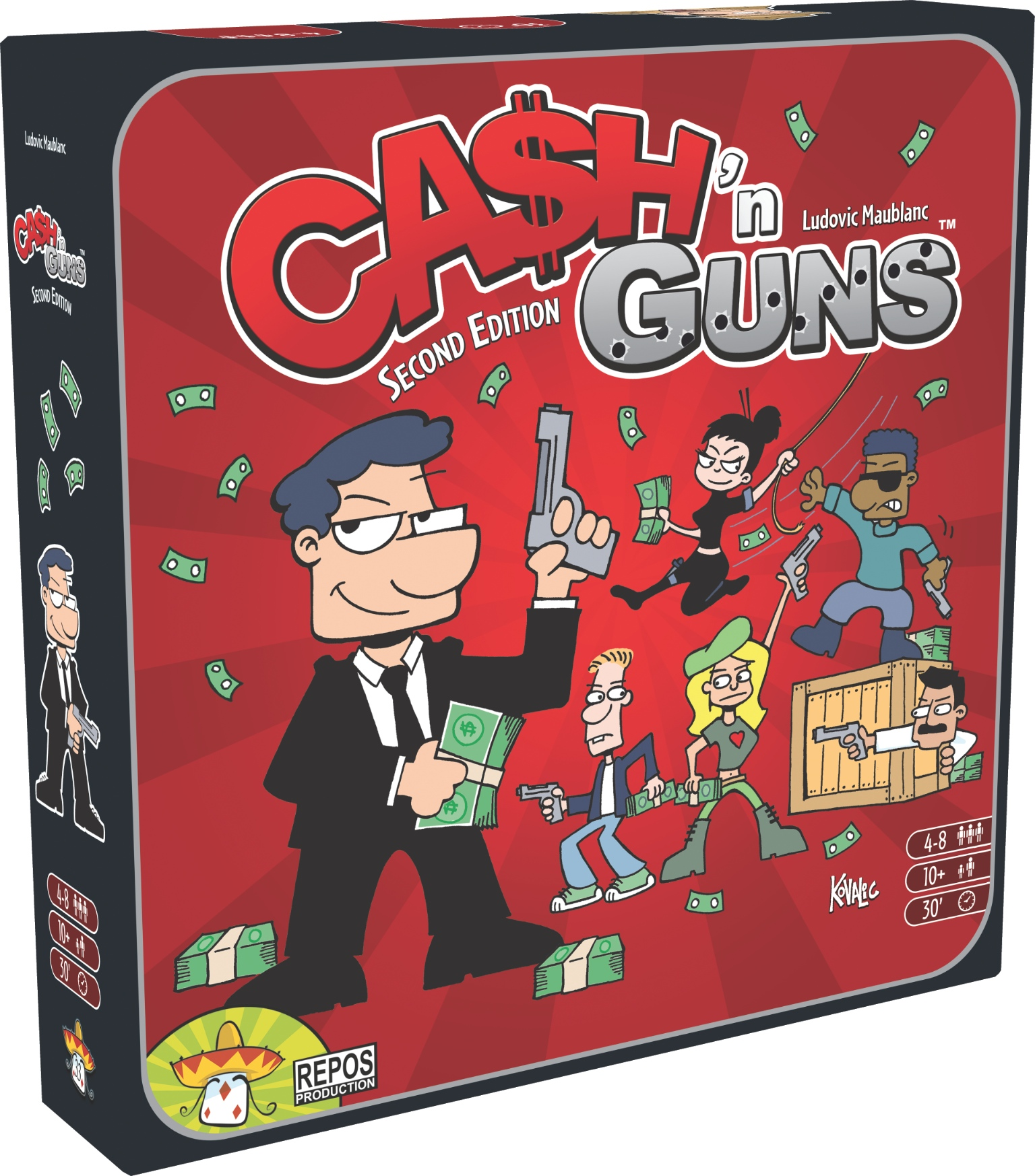 Ca$h 'n Guns 2nd Edition, Hits the Streets! - STICK'EM UP!