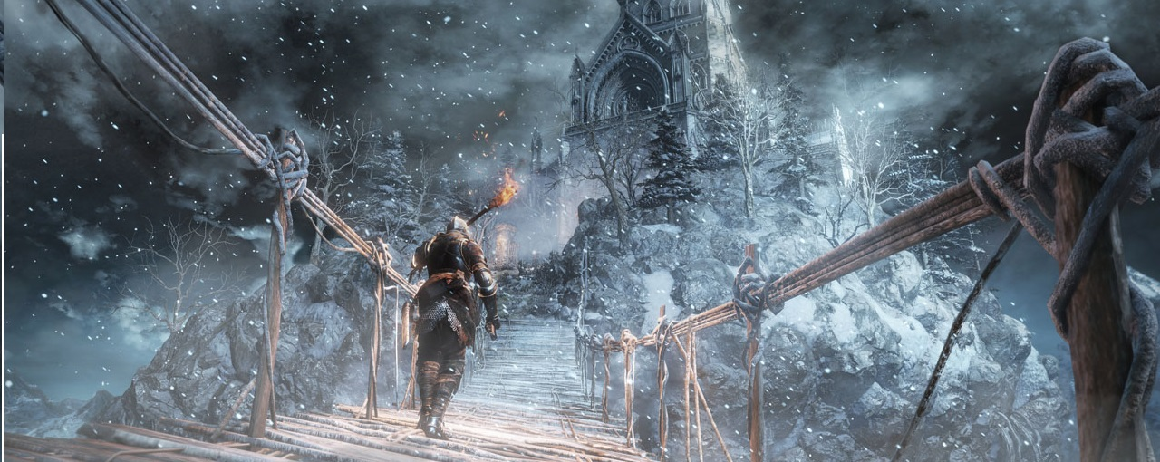 """Dark Souls III: Ashes of Ariandel"" Announced - Winter Is Coming?"