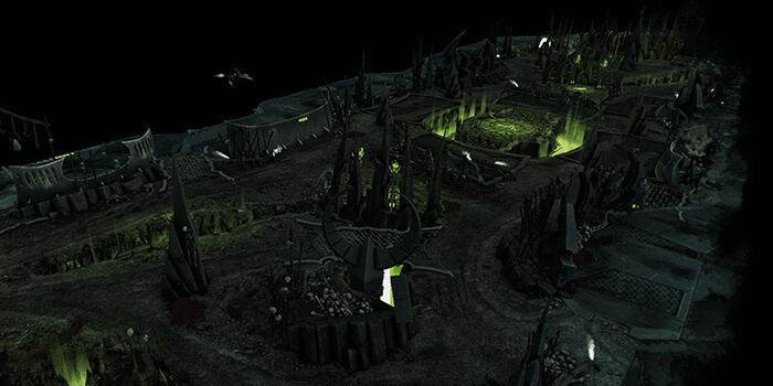 Commorragh Display board Dark-Nexus-Arena-2