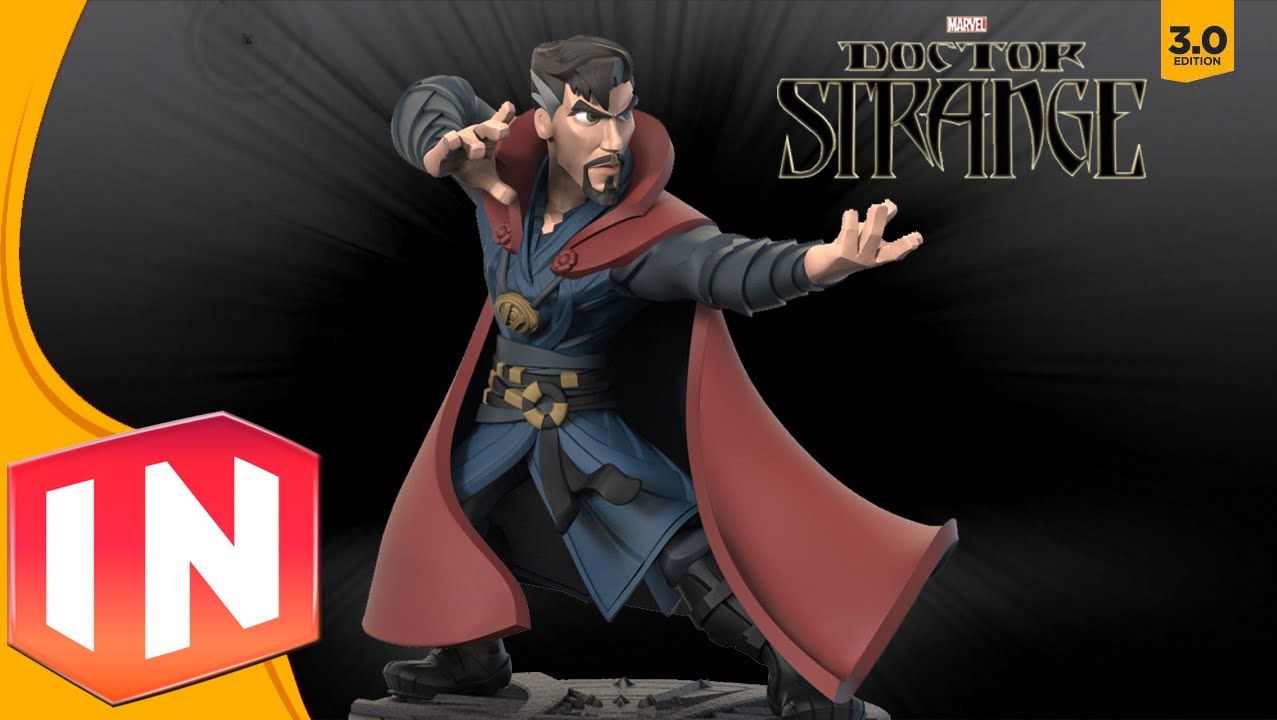 """Disney Infinity 3.0"" Would Have Had Doctor Strange Figure"