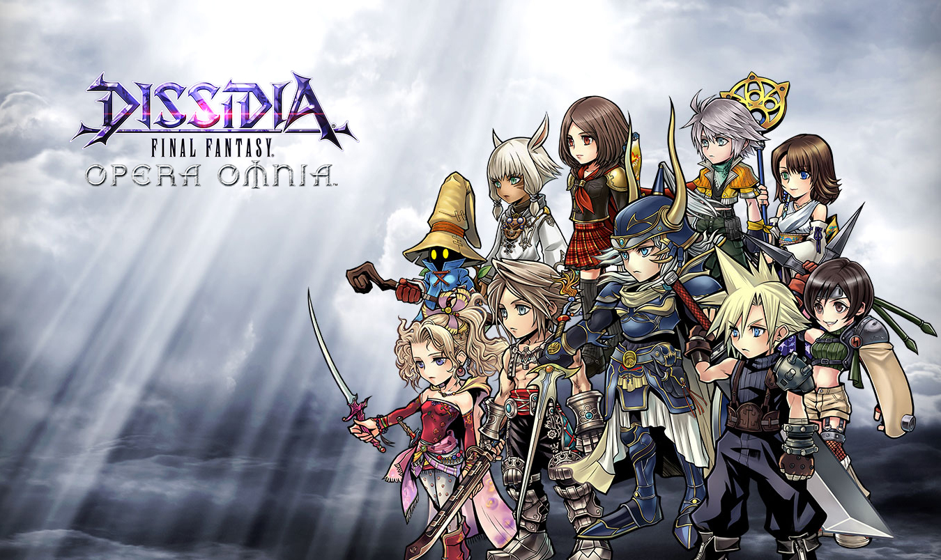 """Dissidia Final Fantasy: Opera Omnia"" Announced - Looks Like a Traditional RPG for Mobile"