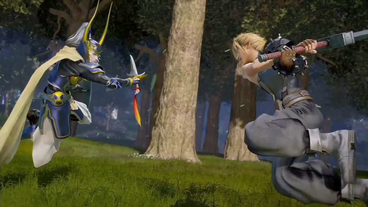 "Arcade ""Dissidia Final Fantasy"" Only Launching with 14 Characters - More Characters to Be Added with Post-Launch Updates"
