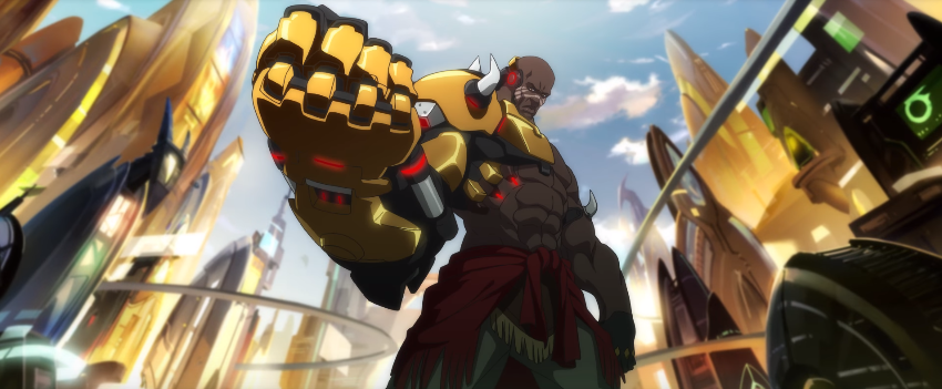 Enter Doomfist - The Long-Awaited, Skyscraper-Killing Hero (Well, maybe hero is the wrong word)