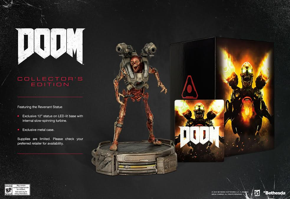 "ANNOUNCED: ""Doom (2016)"" Has a Release Date - Collector's Edition Also Revealed"