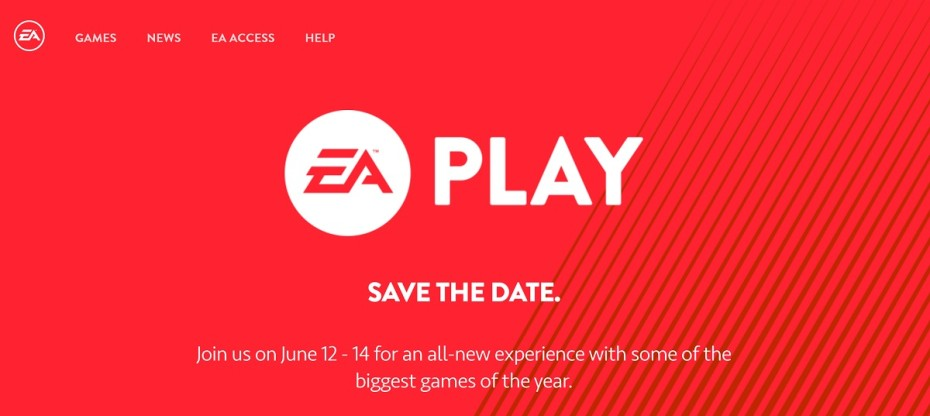 EA Play Conference Announced - Will Be Around the Same Time as E3