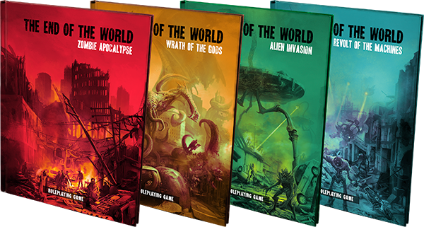 "Fantasy Flight Games Announces ""THE END OF THE WORLD"" - The RPG"