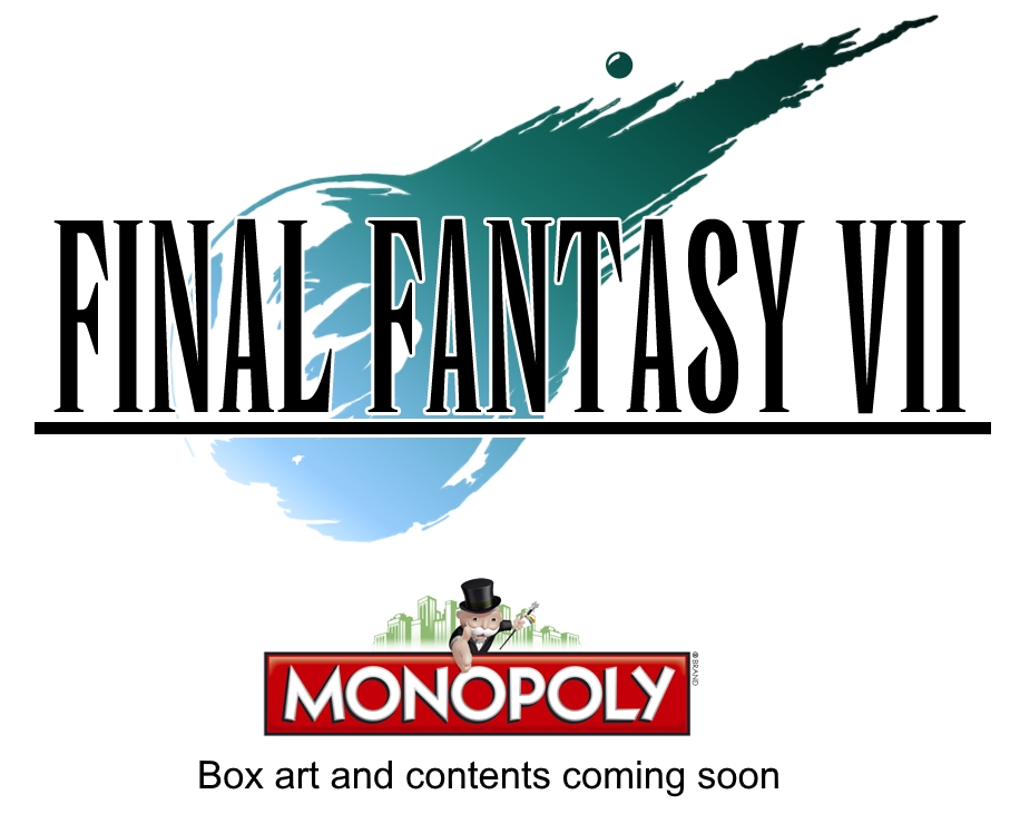 """Final Fantasy VII"" Monopoly Announced - What Space Will Be the Golden Saucer?"