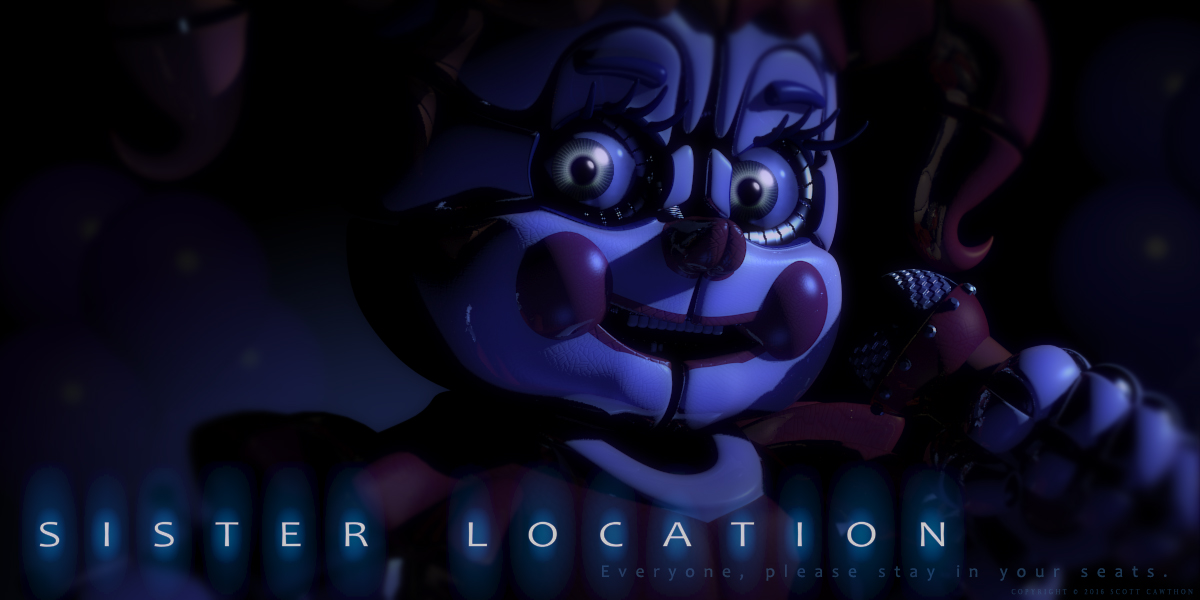 "Trailer for ""Five Nights at Freddy's: Sister Location"" Revealed"