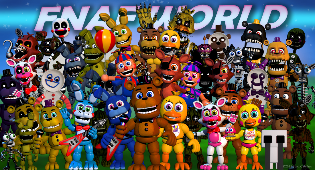 """Five Nights at Freddy's World"" Released"
