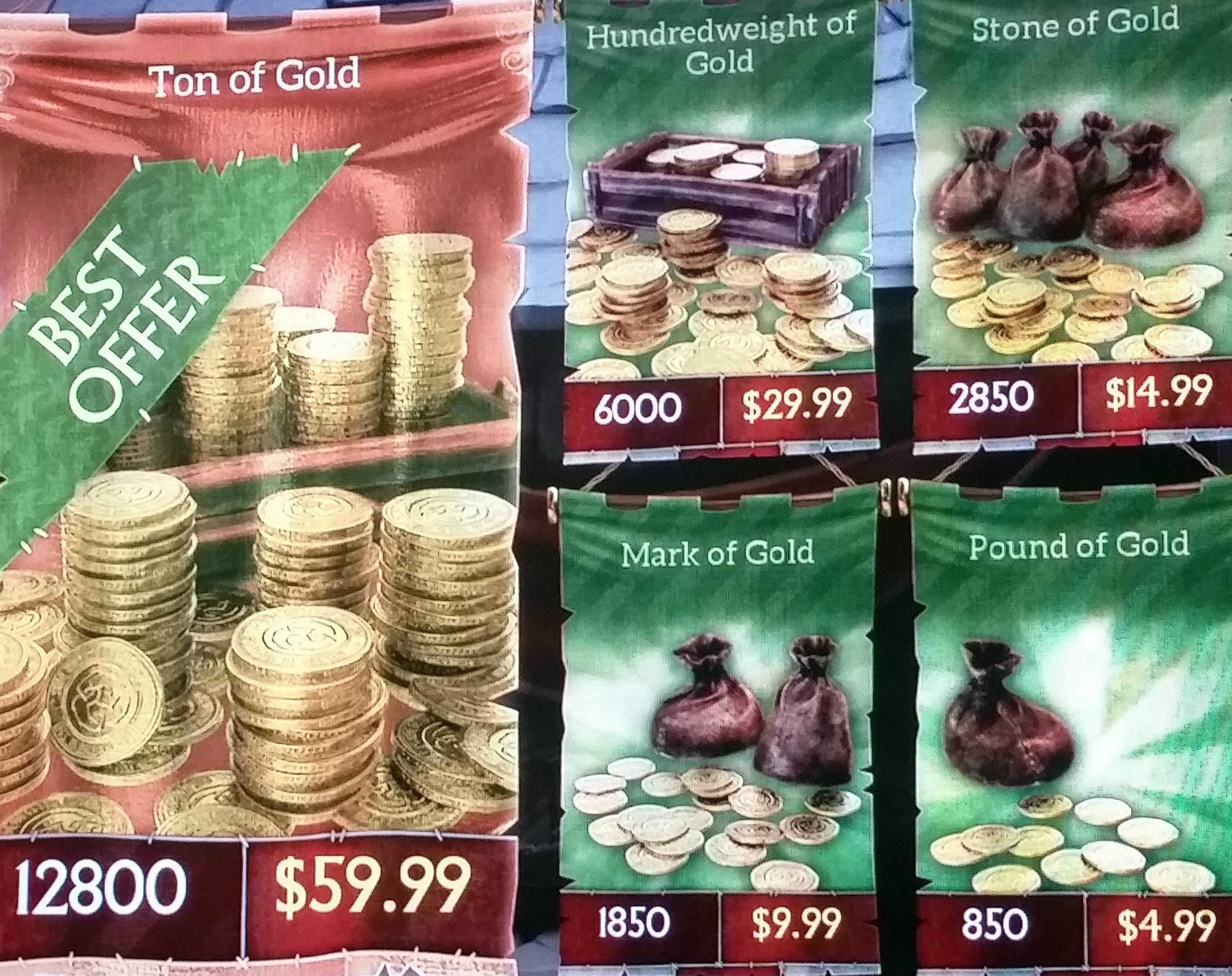 "Microtransaction Prices Leaked for ""Fable Legends"" - They're Not Quite"