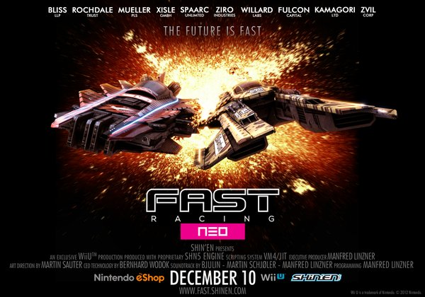"""Fast Racing Neo"" Release Date Revealed - Game Releasing Soon in December"