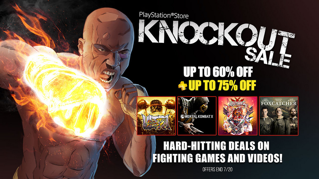 PSN Fighting Summer Sale Up - It's a Knockout Sale!