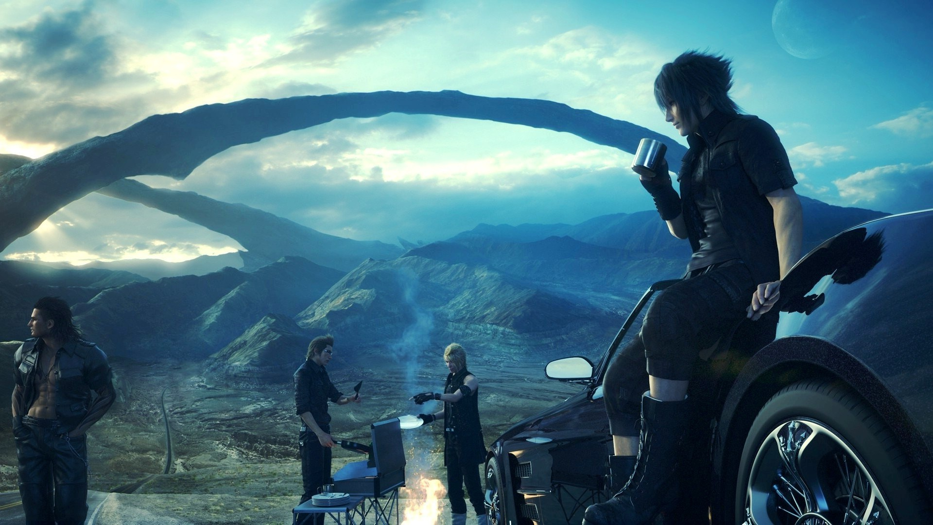 """Final Fantasy XV"" Is Playable from Start to Finish - My We Have Come A Long Way"