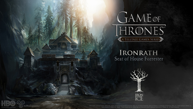 "TellTale Games' ""Game of Thrones"" Details Revealed - Story Follows Members of House Forrester"