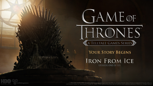 """Game of Thrones: A Telltale Games Series"" first episode now free to download ahead of season finale - The critically-acclaimed first episode,  'Iron From Ice,' is now free to download on PlayStation 4, PlayStation 3, Xbox One, and Xbox 360"
