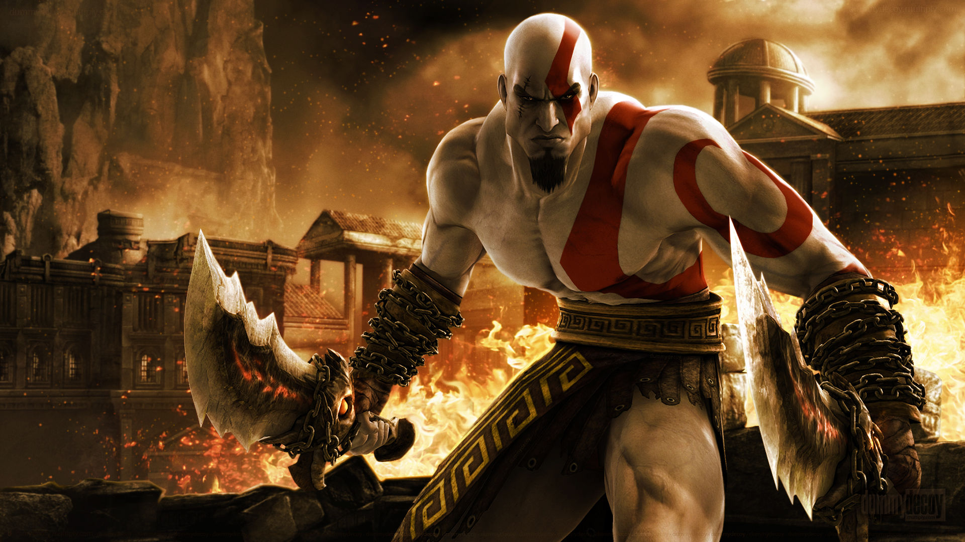"New ""God of War"" Officially Revealed - Kratos Has a Beard!"