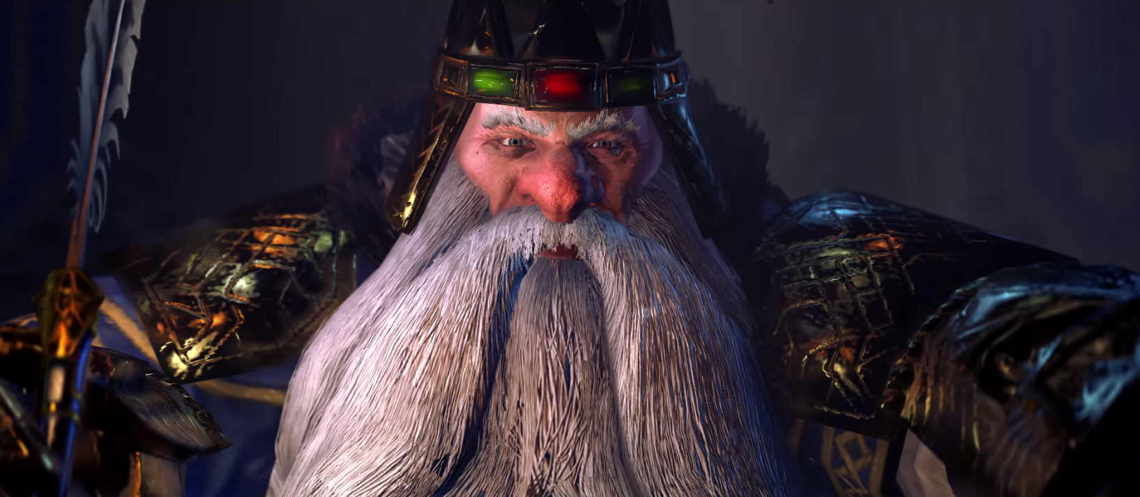 "Revealed: ""Total War: WARHAMMER"" trailer for High King Thorgrim Grudgebearer - And he's got a lot of grudges to bear."