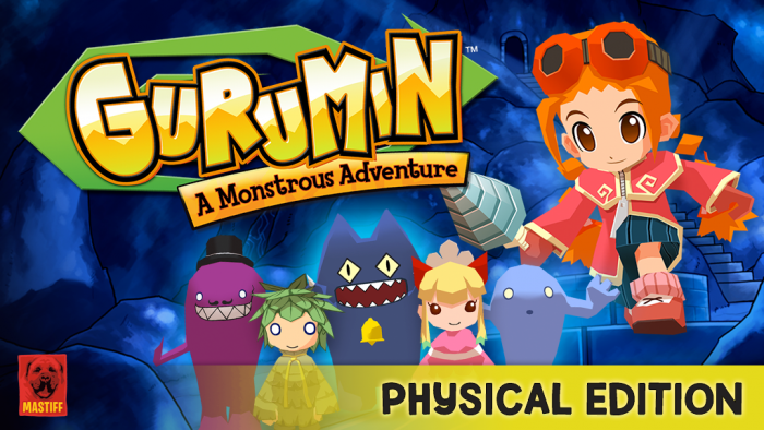 "Mastiff to Launch Kickstarter For ""Gurumin"" Physical Edition - First Physical Release Was Back In 2007"