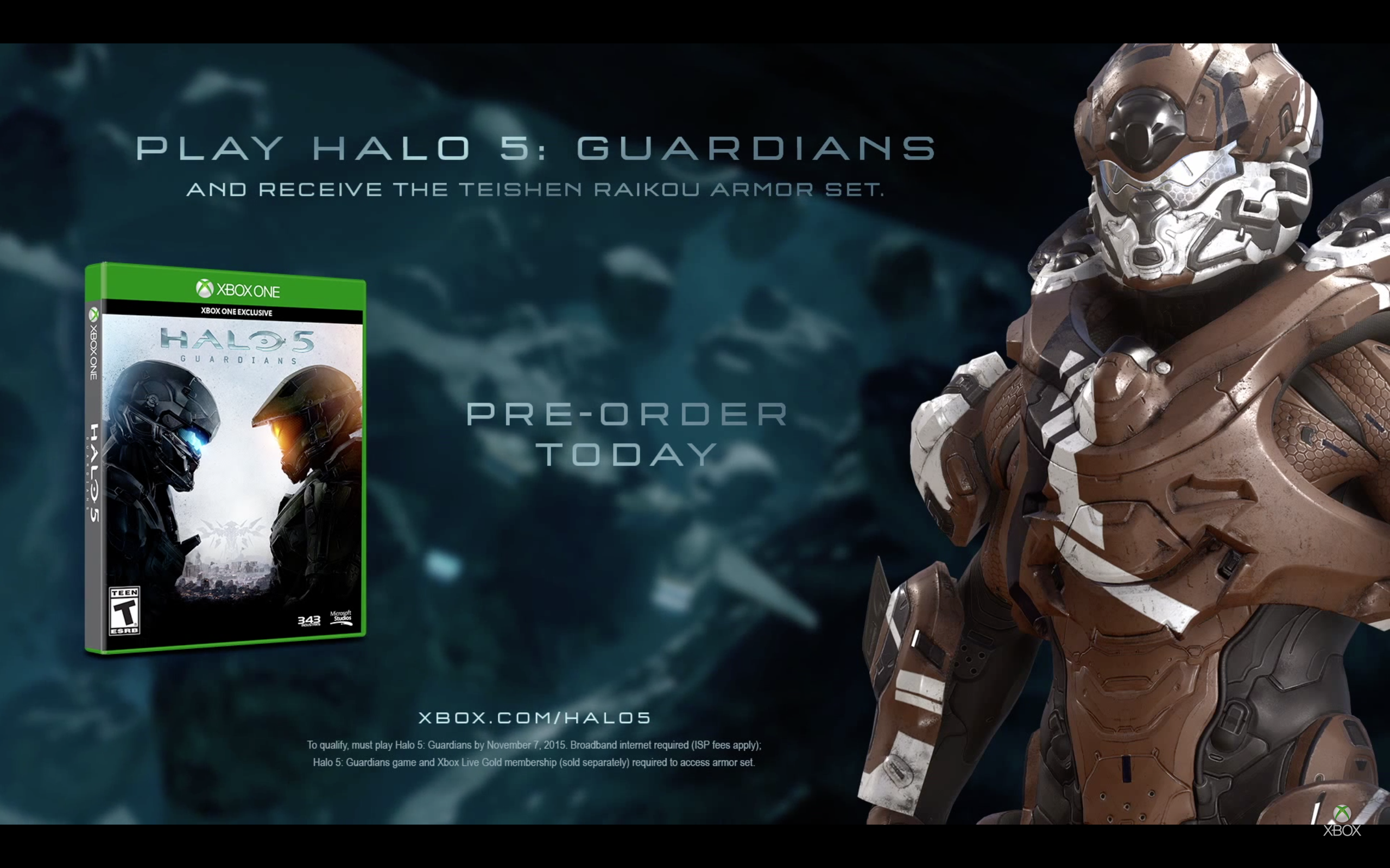 """Halo 5"" Has Bonus Armor for Playing Early"