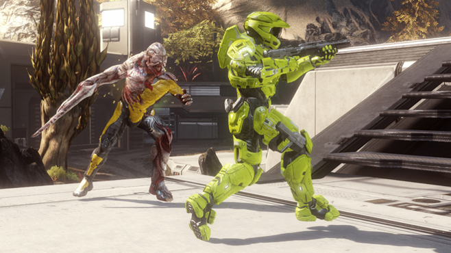"""Halo 5"" Introducing Infection Game Mode - Slaying Those Darn Zombies"