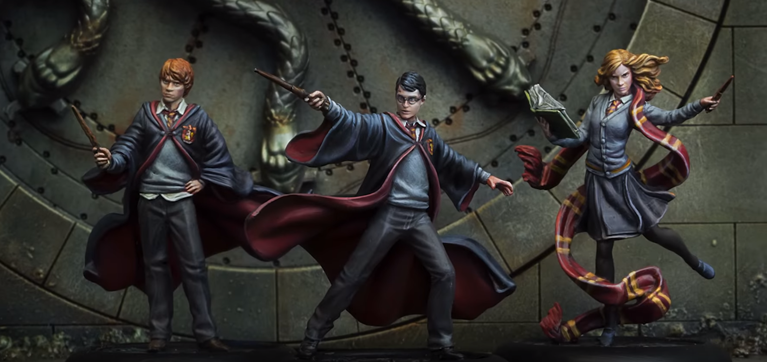 "Knight Models Announces ""Harry Potter Miniatures Adventure Game"" - Wands At The Ready!"