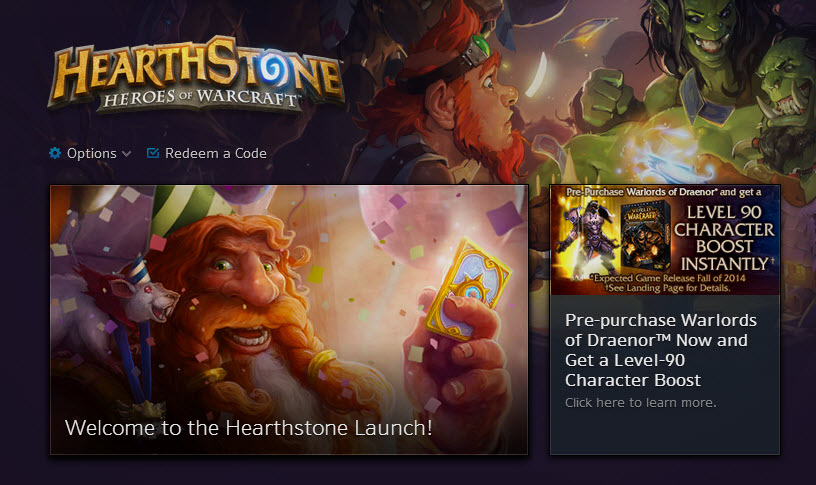 """Hearthstone"" Officially Launches"
