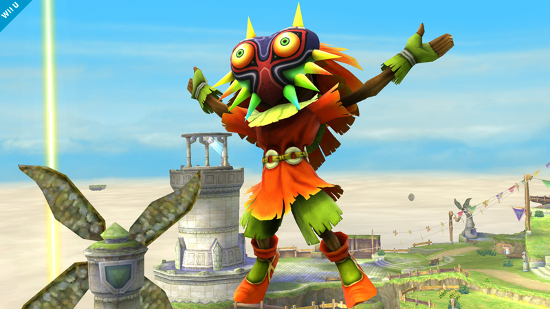 "Skull Kid Coming to ""Hyrule Warriors Legends"" - Phantom Ganon Is Also a Boss"