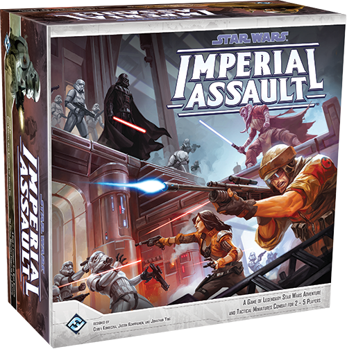 "Fantasy Flight Games Announces ""Imperial Assault"" - Is the the"