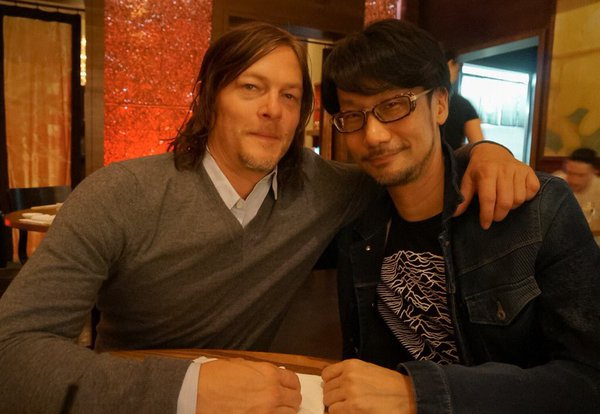 "Norman Reedus and Kojima ""Reunite"" - Kojima's Company Will Update Sometime After"